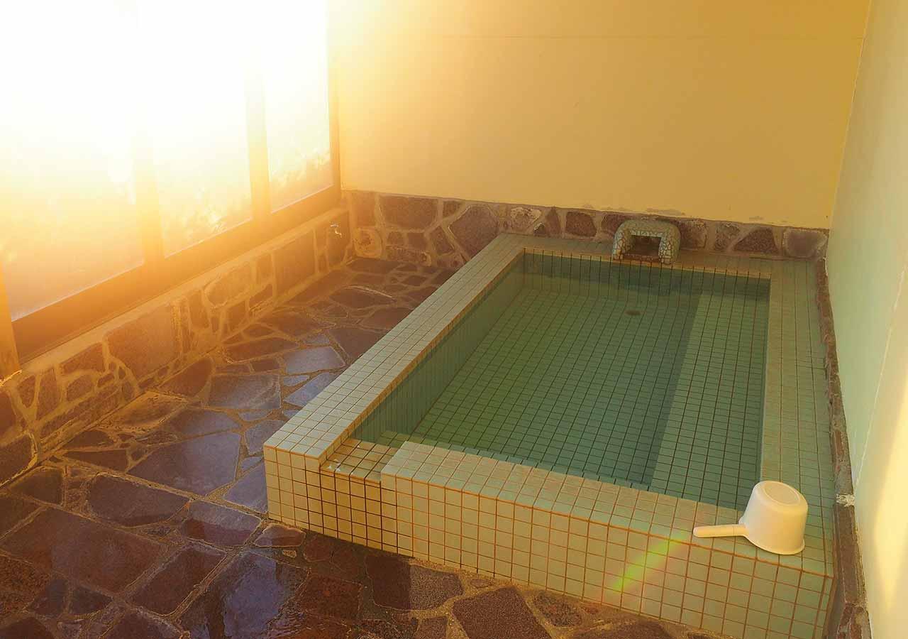熊本県阿蘇 エル・パティオ牧場 お風呂