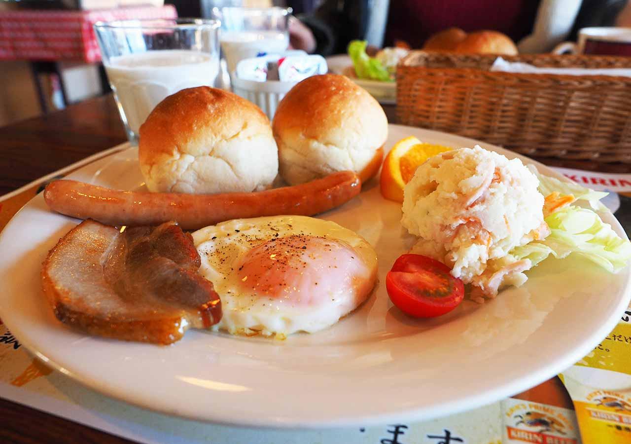 熊本県阿蘇 エル・パティオ牧場 朝食