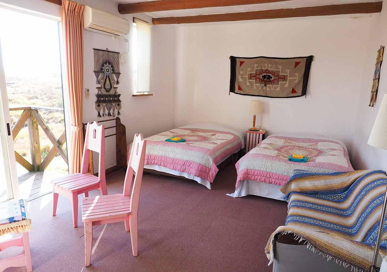 熊本県阿蘇 エル・パティオ牧場の客室
