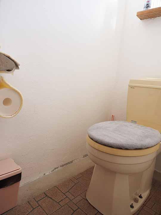 熊本県阿蘇 エル・パティオ牧場 部屋のトイレ