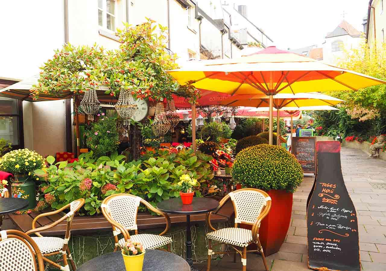 ミュンヘン観光 おすすめカフェ アザムホーフ・パサージュ(Asamhof Passage) カフェ Bricerta