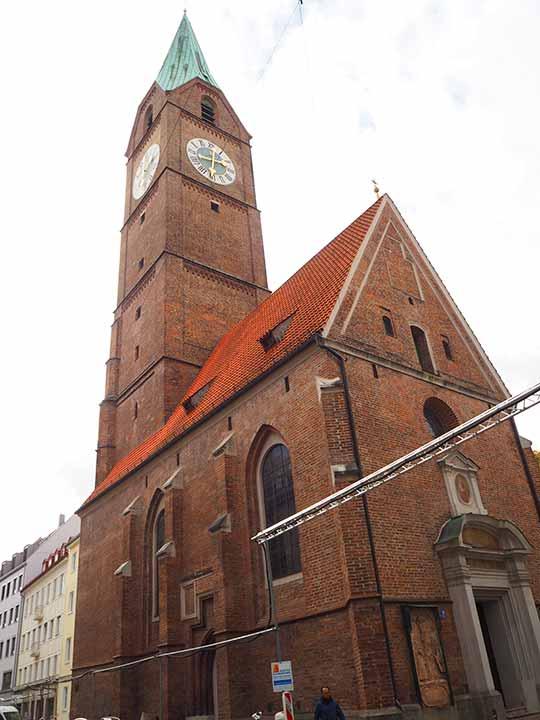 ミュンヘン観光 アラハイリゲン教会(Allerheiligenkirche)