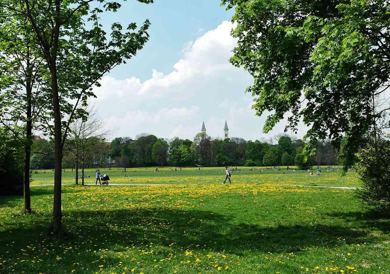 ミュンヘン観光 エングリッシャーガルテン(Englischer Garten)