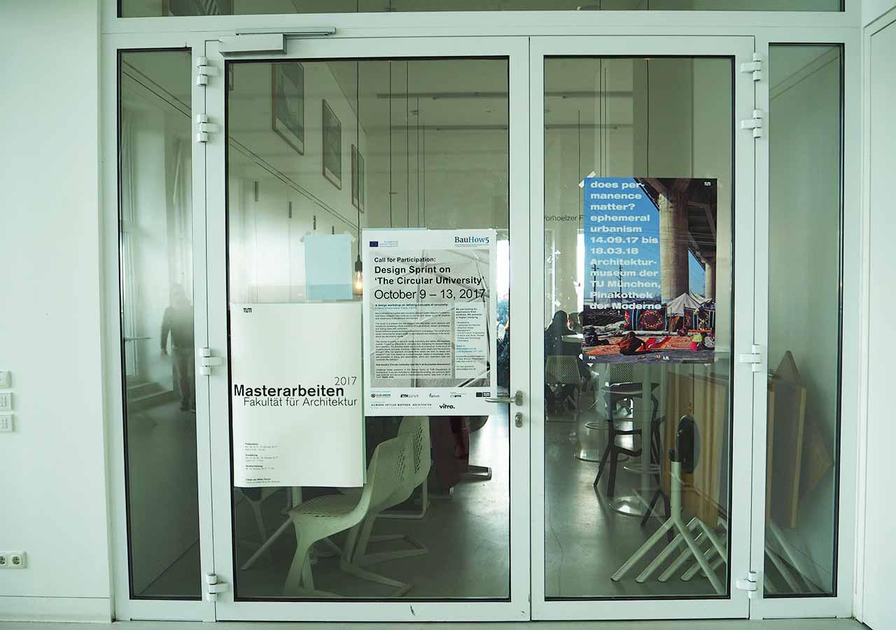 ミュンヘン観光 おすすめカフェ ミュンヘン工科大学の行き方 Vorhoelzer Forum
