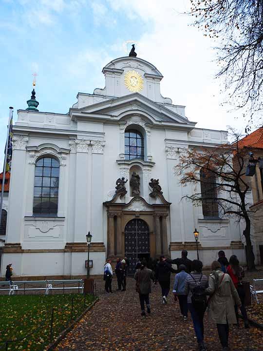 プラハ観光 ストラホフ修道院(Strahovsky Klaster) 教会