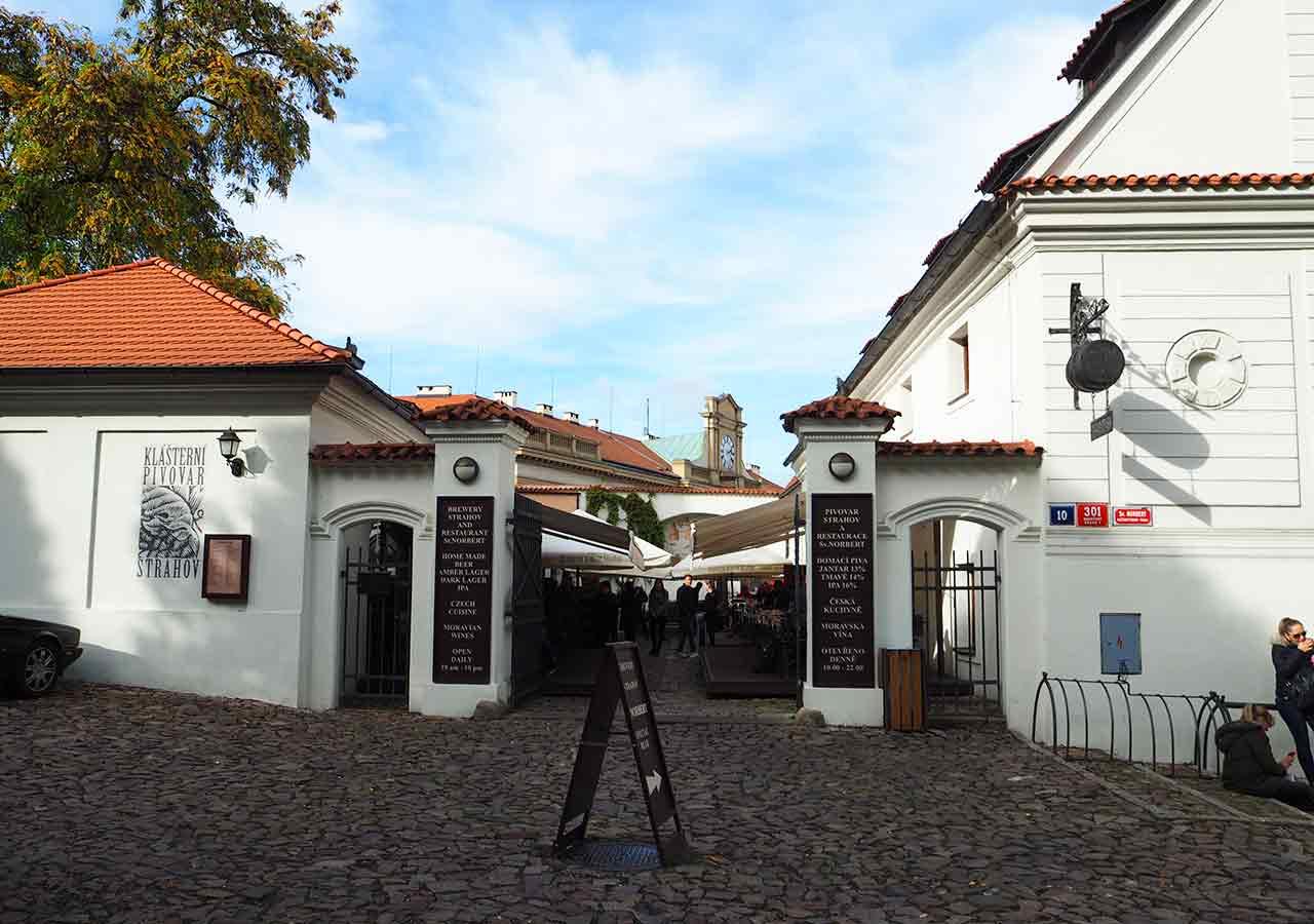 プラハ観光 ストラホフ修道院醸造所(Klášterní pivovar Strahov)