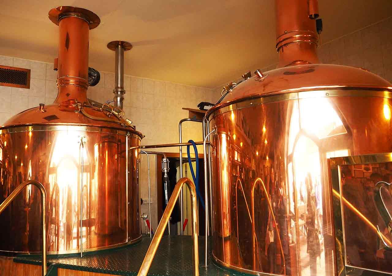 プラハ観光 ストラホフ修道院醸造所(Klášterní pivovar Strahov) 醸造窯