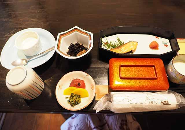 熊本県小国町 わいた温泉郷 旅館 山翠 朝食