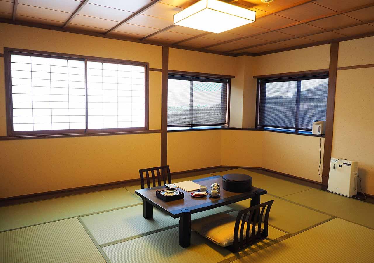 熊本県小国町 わいた温泉郷 旅館 山翠 客室