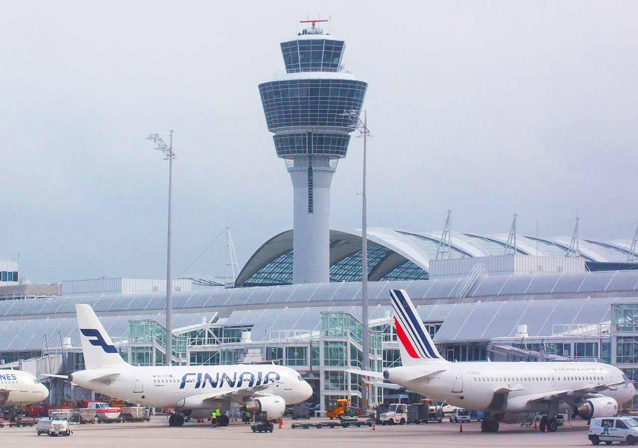 ミュンヘン観光 ミュンヘン空港 フランツ・ヨーゼフ・シュトラウス空港(Flughafen München Franz Josef Strauß)