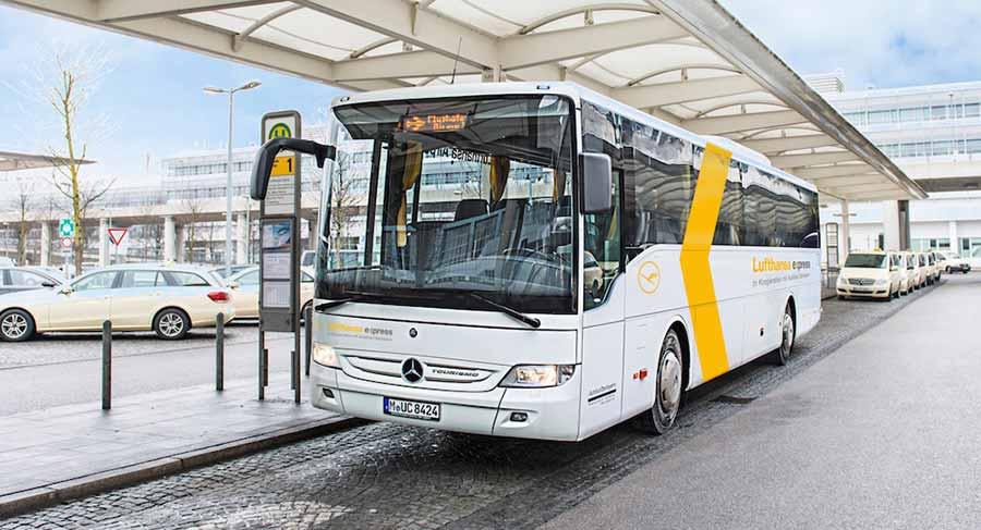 ミュンヘン観光 ルフトハンザ・エクスプレス・バス(Lufthansa Express Bus)