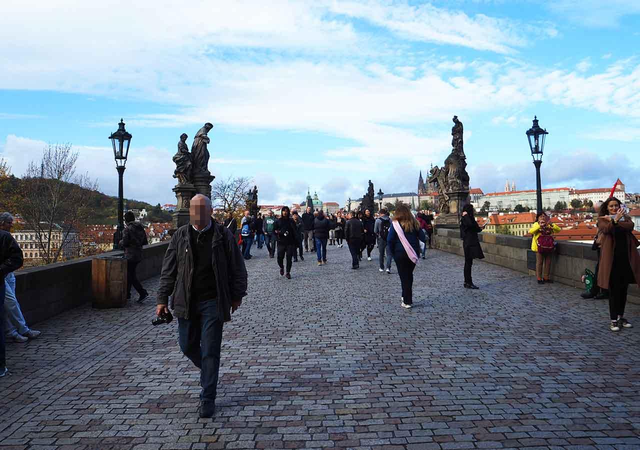 プラハ観光 カレル橋