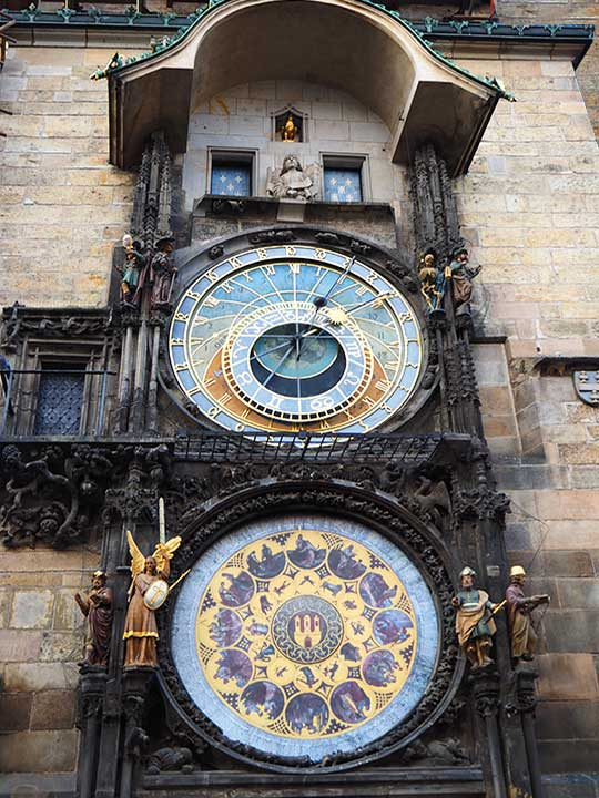 プラハ観光 天文時計(astronomical-clock)