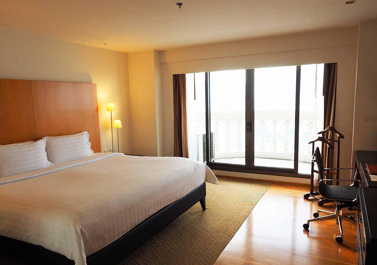 バンコクの5つ星高級ホテル ルブア アット ステート タワー(lebua at State Tower) 客室