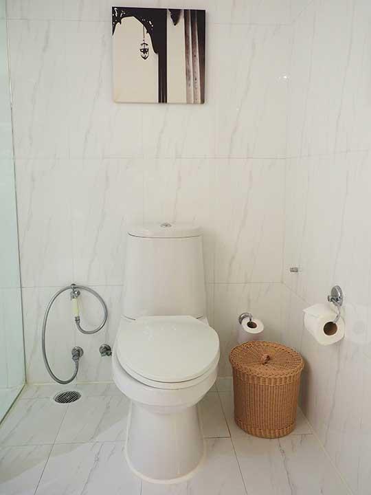 タイ・バンコク旅行で注意すべきこと トイレの画像