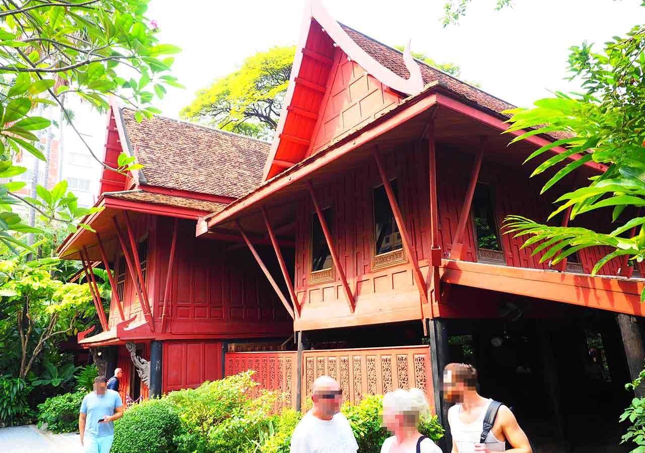 バンコク ジム・トンプソンの家(Jim Thompson House)