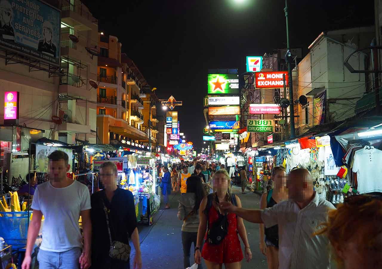 バンコクのおすすめホテル カオサン通り周辺 ニューサイアムパレスヴィル(New Siam Palace Ville) カオサン通り