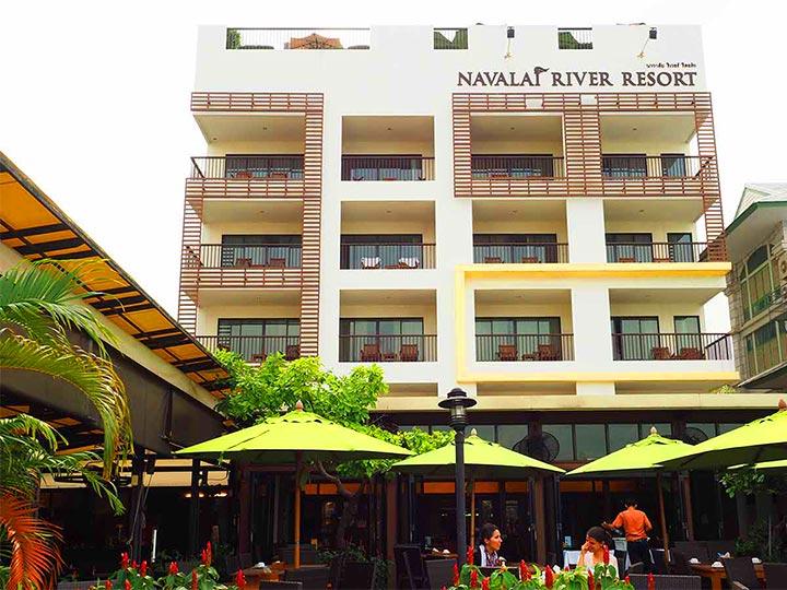 「バンコク・リバーサイドの高コスパホテル!ナヴァライリバーリゾート宿泊記」 トップ画像