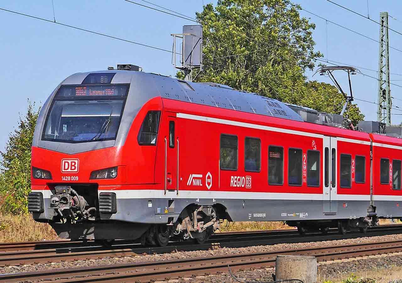 DB(ドイツ鉄道)の電車の画像