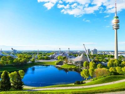 「ミュンヘンのオリンピア公園まとめ!シュタディオン・タワーなど見所満載!」 トップ画像