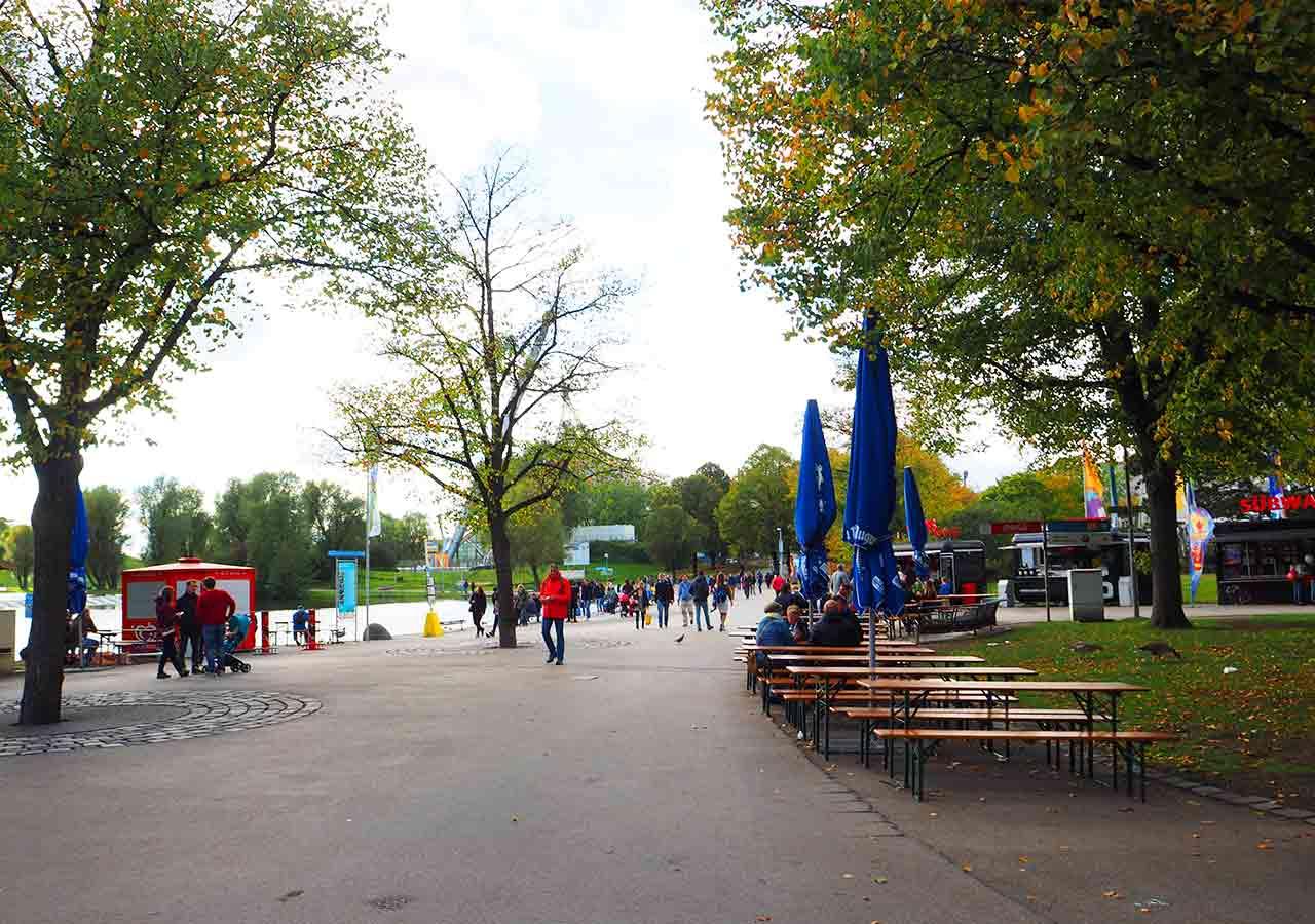 ミュンヘン観光 オリンピック公園