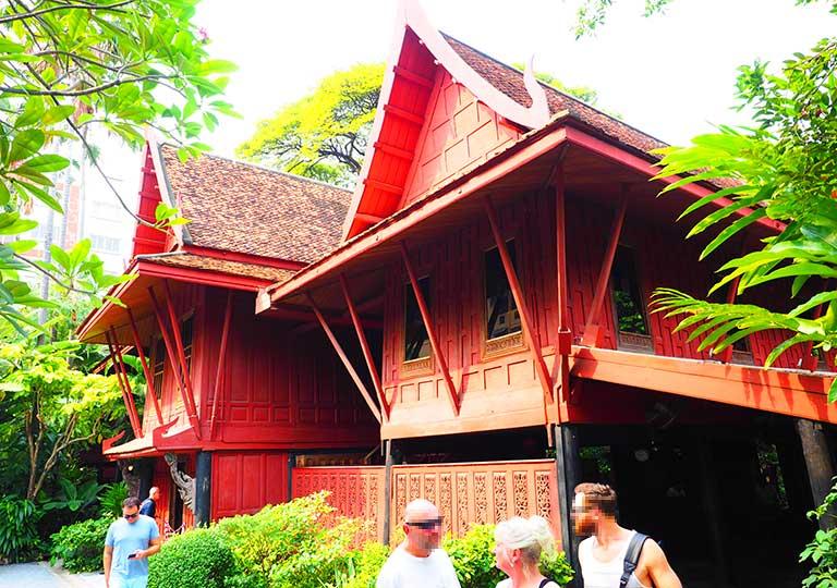 バンコク ジムトンプソンの家の博物館