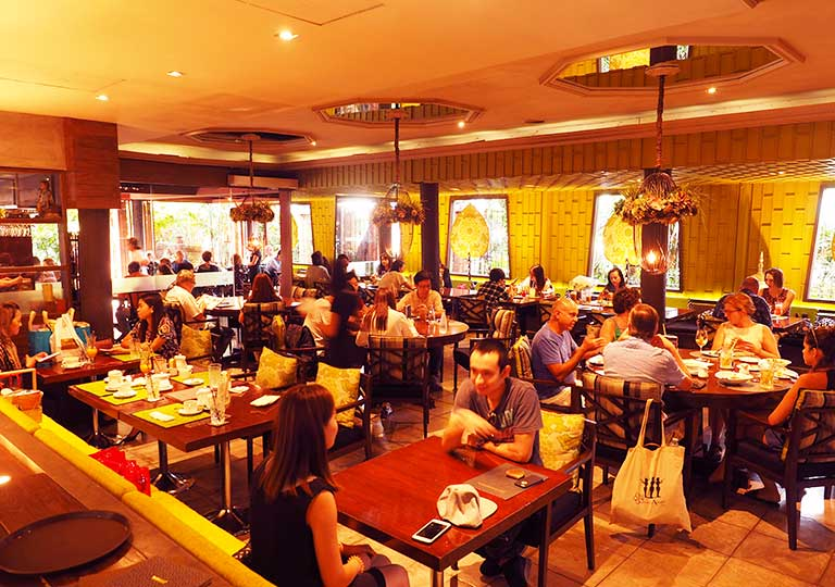 バンコク観光 ジムトンプソンの家(Jim Thompson House) レストラン
