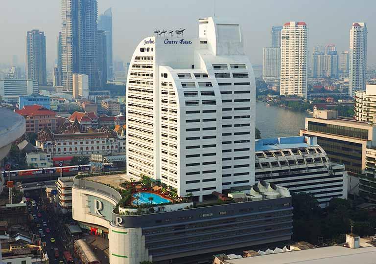 バンコクの観光に便利なおすすめホテル センター ポイント シーロム(Centre Point Silom)