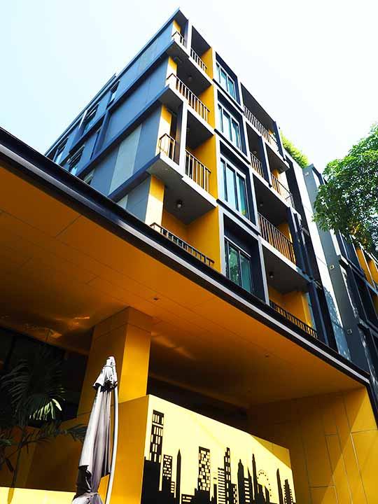 バンコク・シーロムの格安ホテル アイサノック バンコク(iSanook Bangkok)