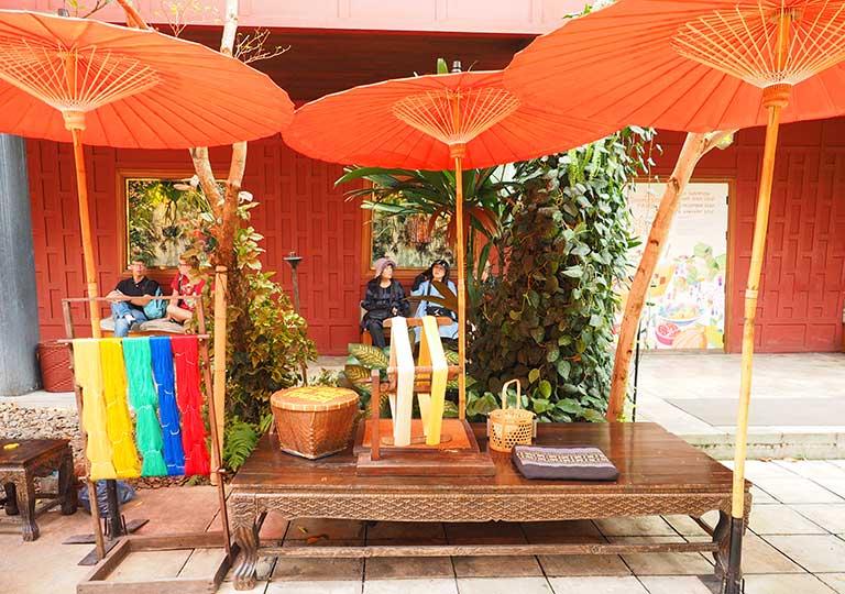 バンコク観光 ジムトンプソンの家(Jim Thompson House) 庭園