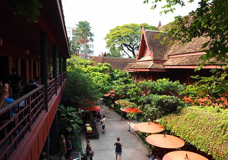 バンコク観光 ジムトンプソンの家(Jim Thompson House)