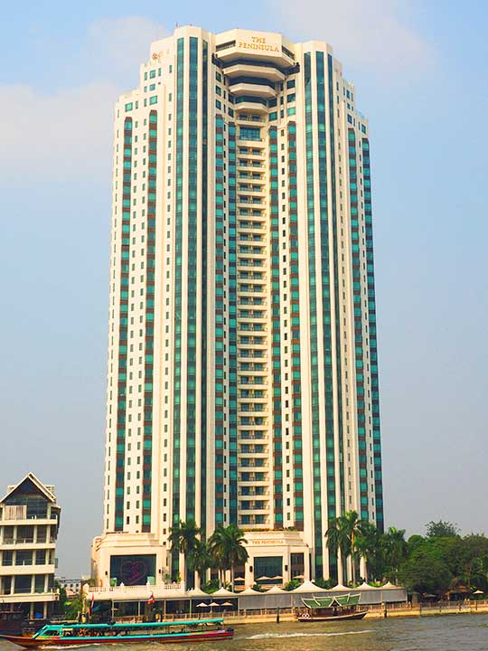 バンコクのおすすめ高級ホテル ザ ペニンシュラ バンコク(The Peninsula Bangkok)