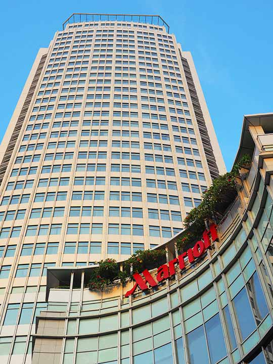 バンコクの観光に便利なおすすめホテル バンコク マリオット ホテル スクンビット(Bangkok Marriott Hotel Sukhumvit)