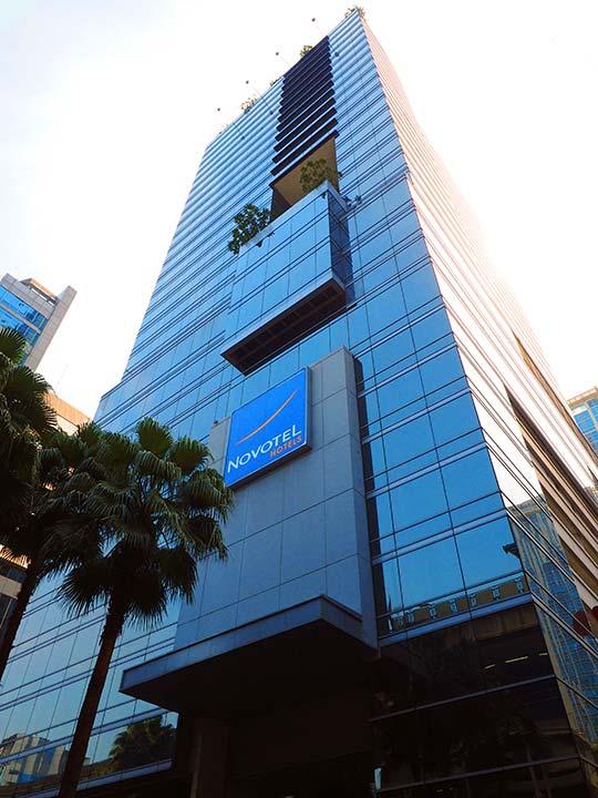 バンコクの観光に便利なおすすめホテル ノボテル バンコク プルンチット スクンビット(Novotel Bangkok Ploenchit Sukhumvit)