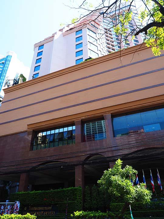バンコク・アソーク駅近くのおすすめホテル レンブラント ホテル(Rembrandt Hotel)