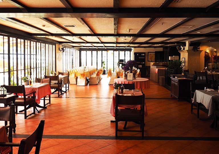 バンコク・アソーク駅近くのおすすめホテル レンブラント ホテル(Rembrandt Hotel) レストランDa Vinci Italian Restaurant