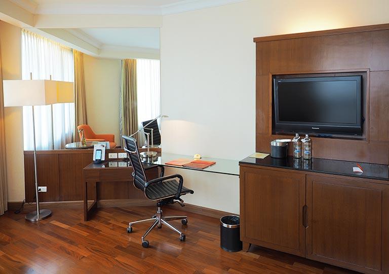 バンコク・アソーク駅近くのおすすめホテル レンブラント ホテル(Rembrandt Hotel) 部屋の設備