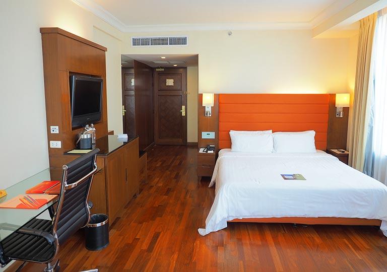 バンコク・アソーク駅近くのおすすめホテル レンブラント ホテル(Rembrandt Hotel) 部屋