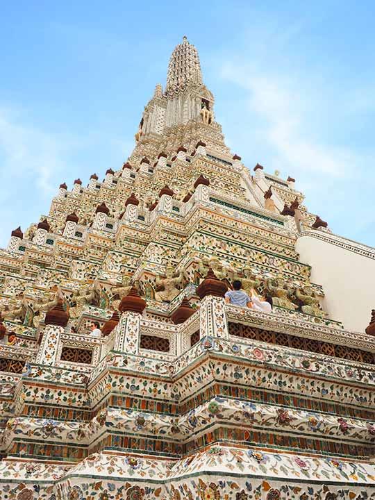 バンコク観光 ワットアルン(Wat Arun)大仏塔