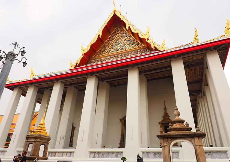 バンコク観光 ワットポー(Wat Pho)ウボーソット(本堂)