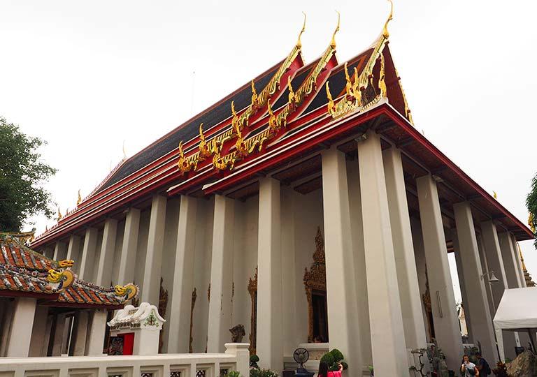 バンコク観光 ワットポー(Wat Pho)大涅槃仏像の礼拝堂