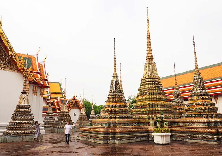 バンコク観光  ワット ポー(Wat Pho)
