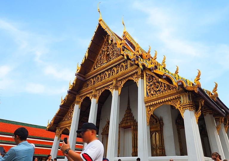 バンコク観光 ワットプラケオ(Wat Phra Kaew) ホー・プラ・モンティエン・タム