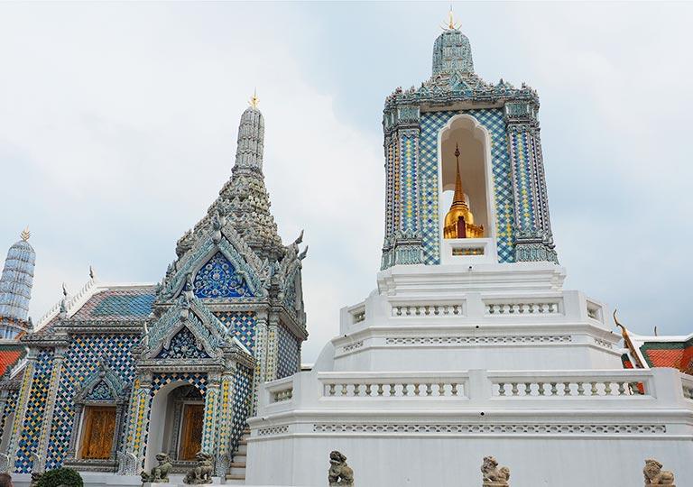バンコク観光 ワットプラケオ(Wat Phra Kaew) ウィハーン・ガンダーラ