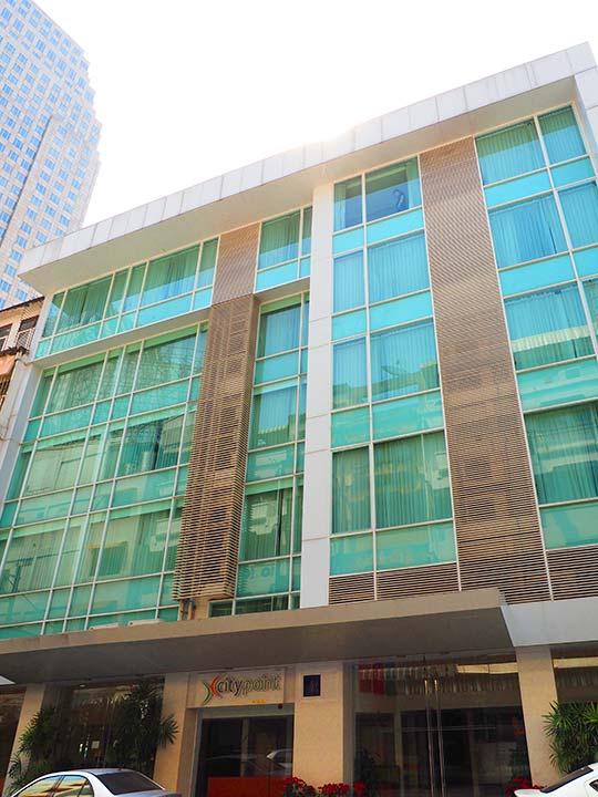 バンコクのシティ ポイント ホテル(CityPoint Hotel)