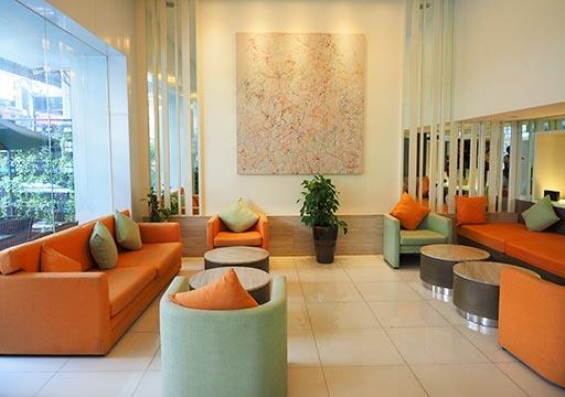 バンコク・スクンビットの格安ホテル シティ ポイント ホテル(CityPoint Hotel) ロビー