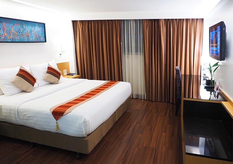 バンコクのシティ ポイント ホテル(CityPoint Hotel)の部屋