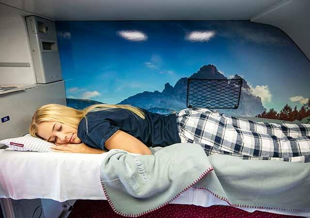 ミュンヘンからウィーンの移動方法 ネイトジェット(Nightjet)の画像