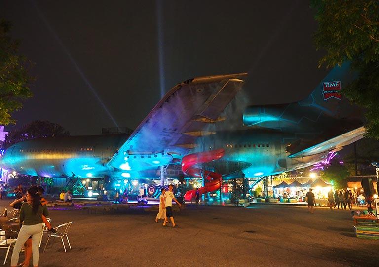バンコク観光 チャンチューイ・クリエイティブパーク(Chang Chui Creative Park) 飛行機