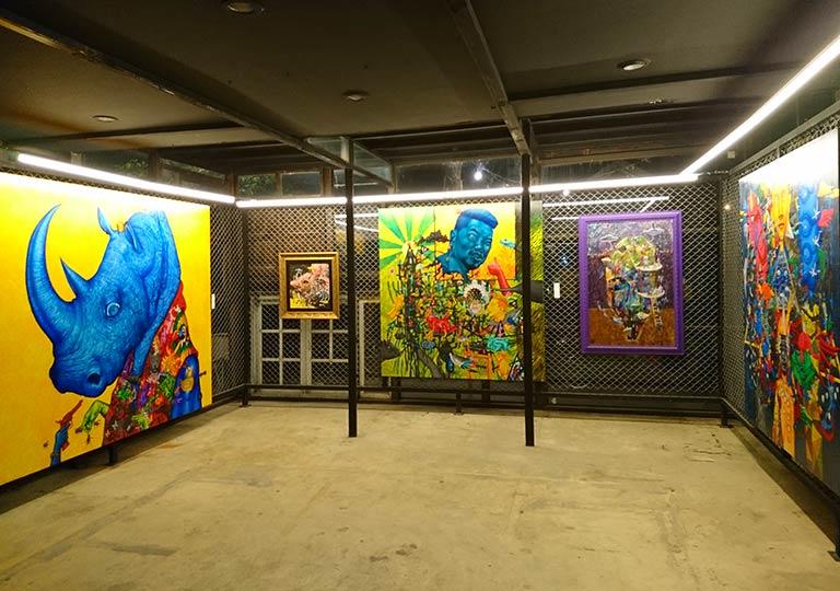 バンコク観光 チャンチューイ・クリエイティブパーク(Chang Chui Creative Park) アートギャラリー